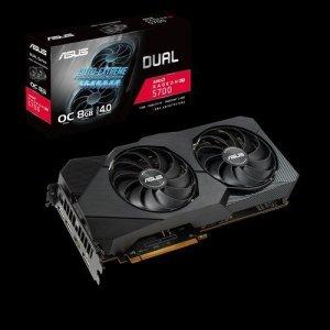 Asus DUAL-RX5700-O8G-EVO AMD, 8 GB, Radeon RX 5700, GDDR6, PCI Express 4.0, Processor frequency 1675 MHz, Memory clock speed 140