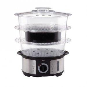ETA Steam cooker ETA013490000 Black/ stainless steel, 1000 W, Capacity 12.25 L, Number of baskets 3