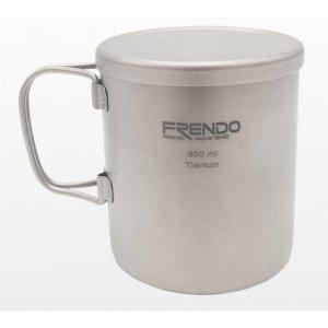 FRENDO Double Wall Mug Grey