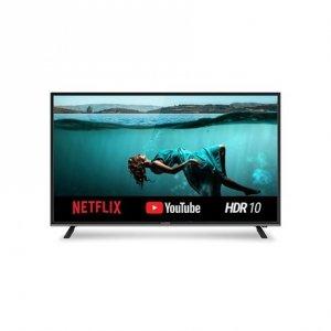 Allview 50ATS5100-UN 50 (125 cm), Smart TV, Netflix 5.0 Smart Solution, 4K UHD, 3840 x 2160 pixels, Wi-Fi, DVB-T/T2/C, Black an