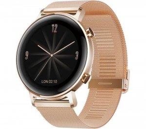 Huawei GT 2 (42 mm) Smart watch, GPS (satellite), AMOLED, Touchscreen, Heart rate monitor, Activity monitoring 24/7, Waterproof,