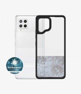 PanzerGlass Clear Case Samsung, Galaxy A42 5G, Hardened glass, Black AB