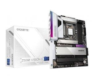 Gigabyte Z590 VISION G Processor family Intel, Processor socket LGA1200, DDR4 DIMM, Memory slots 4, Number of SATA connectors 6
