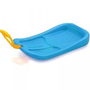 Ślizg plastikowy crazy run niebieski