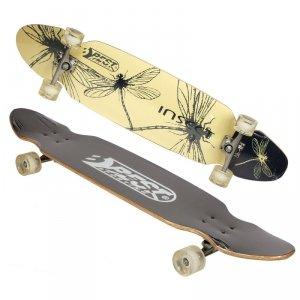 Deskorolka longboard D BEST SPORTING INSECT 109x26cm