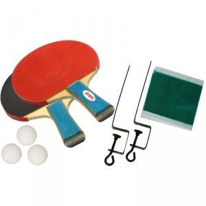 Zestaw do tenisa stołowego Enero 2 rakietki 3 piłeczki i siatka