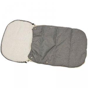 Śpiworek Zimowy Dla Dzieci 90X45cm Miś Biały / Melanż