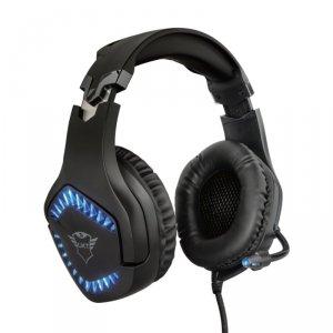 Trust GXT 460 Varzz - Słuchawki dla graczy z podświetlaniem (czarny)