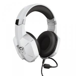 Trust GXT 323W Carus - Słuchawki dla graczy (biały)
