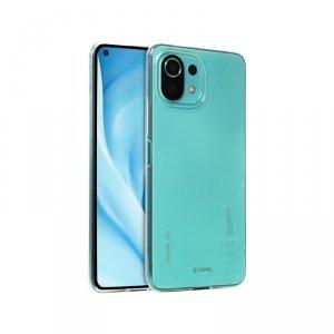 Crong Crystal Slim Cover – Etui Xiaomi Mi 11i 5G (przezroczysty)