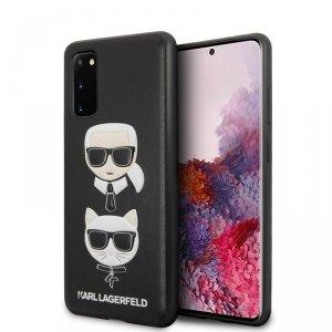 Karl Lagerfeld Embossed Case Karl & Choupette - Etui Samsung Galaxy S20