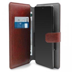 PURO Universal Wallet 360° - Uniwersalne etui obrotowe z kieszeniami na karty, rozmiar XXL (czerwony)