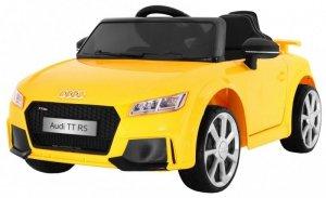 Pojazd AUDI Quatro TT RS EVA 2.4G Żółty
