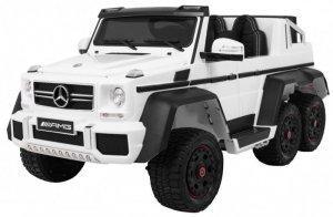 Pojazd Mercedes G63 6x6 Biały