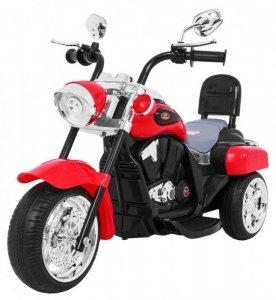 Motorek Chopper NightBike Czerwony