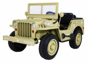 Pojazd Retro Wojskowy 4x4 Matcha