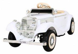 Pojazd Mercedes Benz Retro Typ 540A Biały