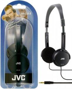 Słuchawki JVC HAL-50BE (nauszne; NIE; kolor czarny