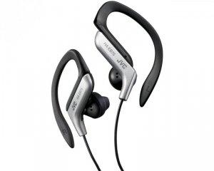 Słuchawki JVC HAE-B75SNU (douszne, sportowe, silver)