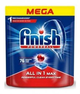 Finish ALL-IN-1 MAX REGULAR - Tabletki do zmywarki x76