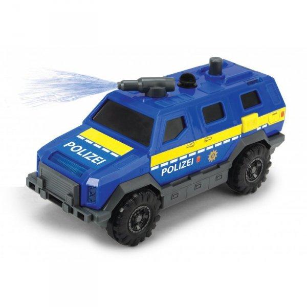 Dickie SOS  Kwatera główna Policji  zestaw Helikopter + 5 Pojazdów Światło Dźwięk