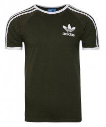 Adidas Originals khaki koszulka t-shirt męski Clfn Tee BQ5369