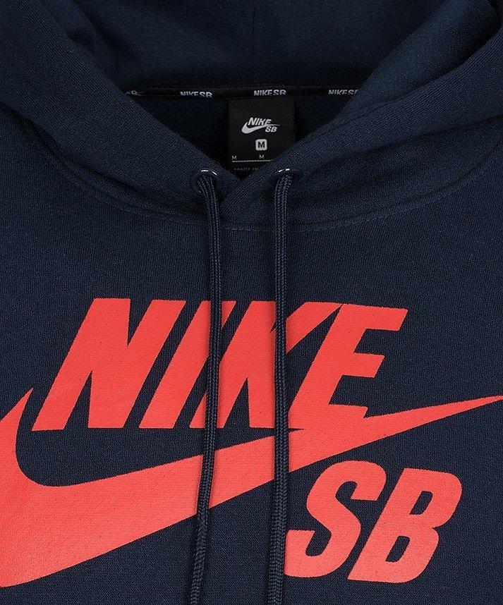 Nike bluza męska SB Icon kangurka AJ9733-451