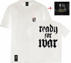 ZESTAW Prospect CD Demony Wojny + T-Shirt Ready For War Biały
