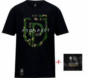 ZESTAW Prospect CD Demony Wojny + T-Shirt Prospect MORO