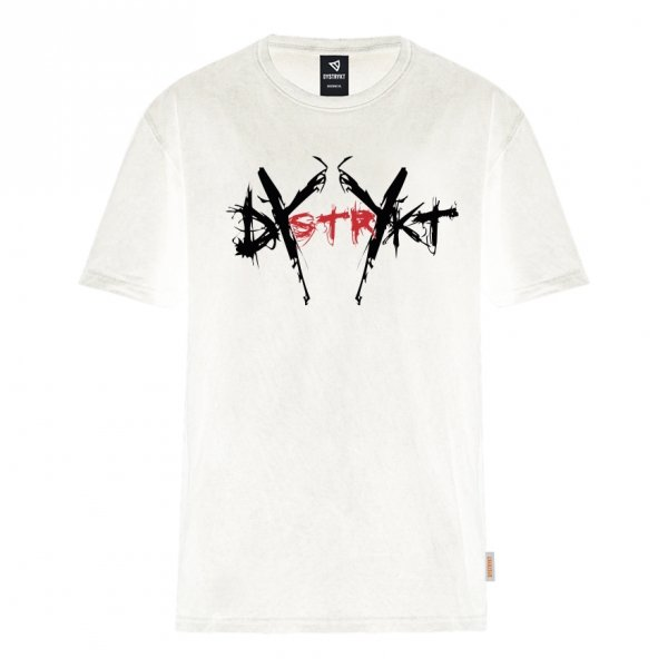Koszulka Dystrykt Scratch Biała