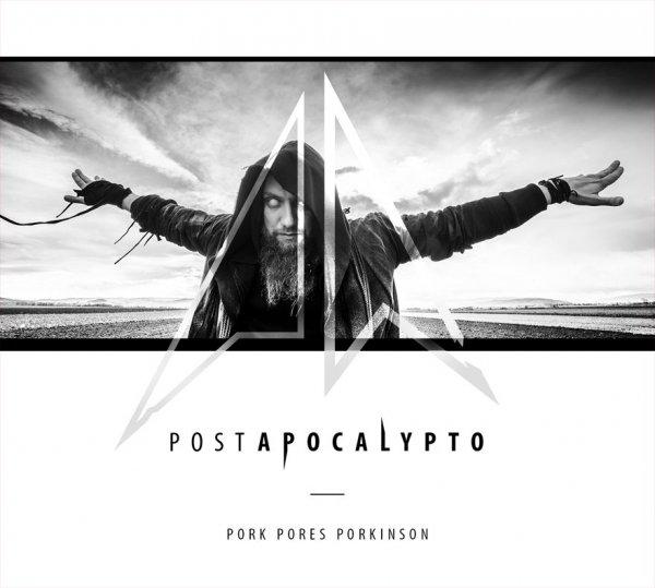 """CD Pork Pores Porkinson """"93 Mln Mil Od Słońca"""" + """"Postapocalypto"""" + Koszulka 93 MLN Mil Od Słońca  Czarna/Biała/Żółta"""