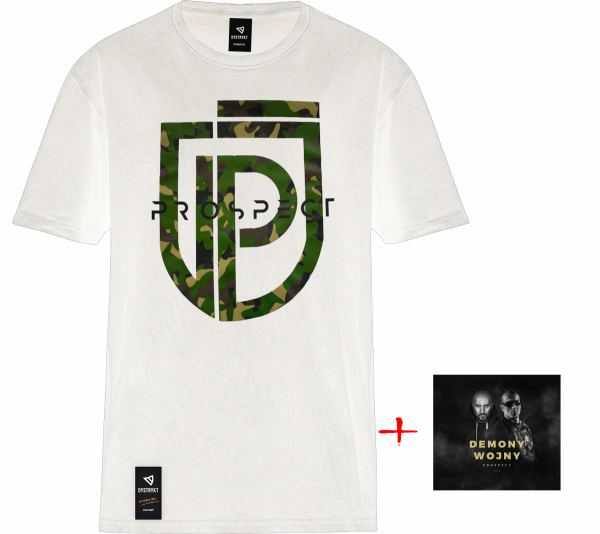 "ZESTAW Prospect CD ""Demony Wojny"" + T-Shirt Prospect ""MORO"""