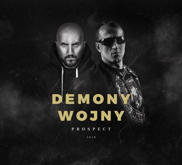 """ZESTAW Prospect CD """"Demony Wojny"""" + T-Shirt Ready For War Biały"""
