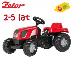 Rolly Toys Traktor na pedały Kid Zetor 2-5 Lat