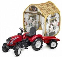 FALK Traktor Garden MASTER z Przyczepką + Namiot