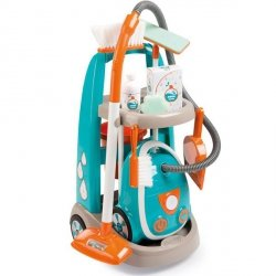 SMOBY Wózek Do Sprzątania Z Odkurzaczem