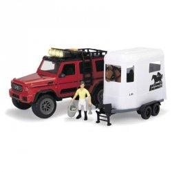 DICKIE Mercedes Wycieczka Konna + Figurka Koń