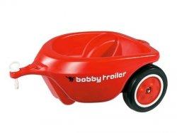 BIG Przyczepka New Bobby Car Czerwona