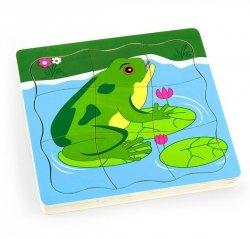 VIGA Puzzle - Jak Rośnie Żabka