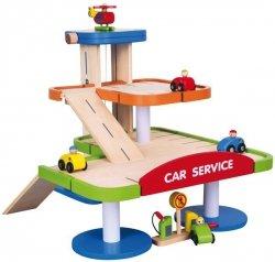 VIGA Stacja Benzynowa z Dwupoziomowym Garażem