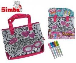SIMBA Cekinowa modna torebka