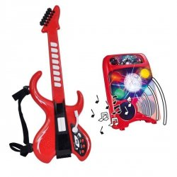 SIMBA MMW Disco Gitara Z Wzmacniaczem