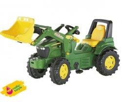 Rolly Toys Traktor na Pedały John Deere z Łyżką