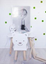 Krzesełko dla dziecka miś