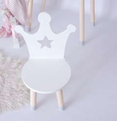 Krzesełko dla dziecka korona