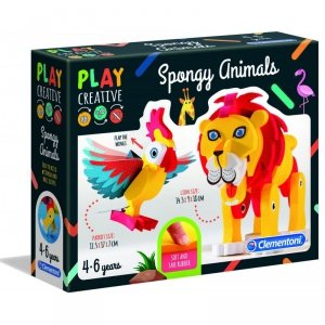Miękkie Zwierzątka Clementoni Play Creative
