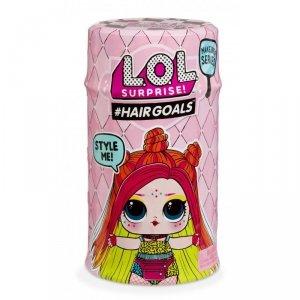 L.O.L. SURPRISE Hairgoals Makeover - Laleczka LOL z włosami Seria 2.1 + Poopsie Magiczny Zestaw Brokat