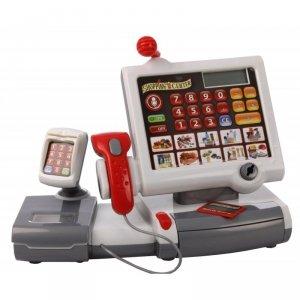 Elektroniczna Kasa sklepowa ze skanerem i czytnikiem kart Klein