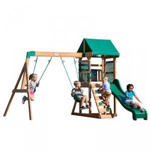 Backyard Discovery Buckley Hill drewniany plac zabaw 5w1 + Stolik gratis!