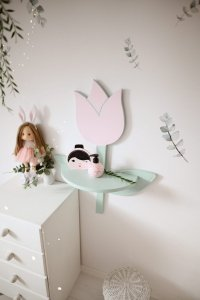 Półka na ścianę Tulipan